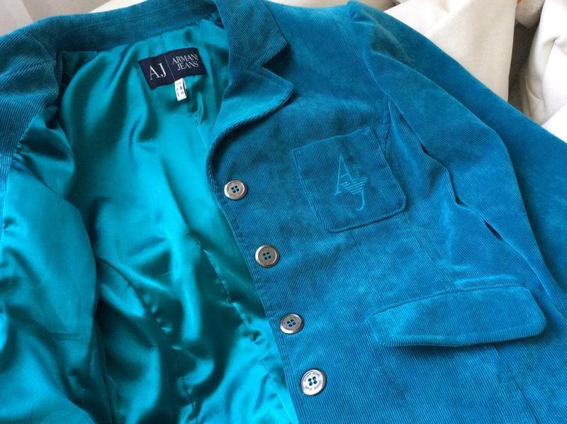 Красивый пиджак от armani jeans оригинал - Фото 2