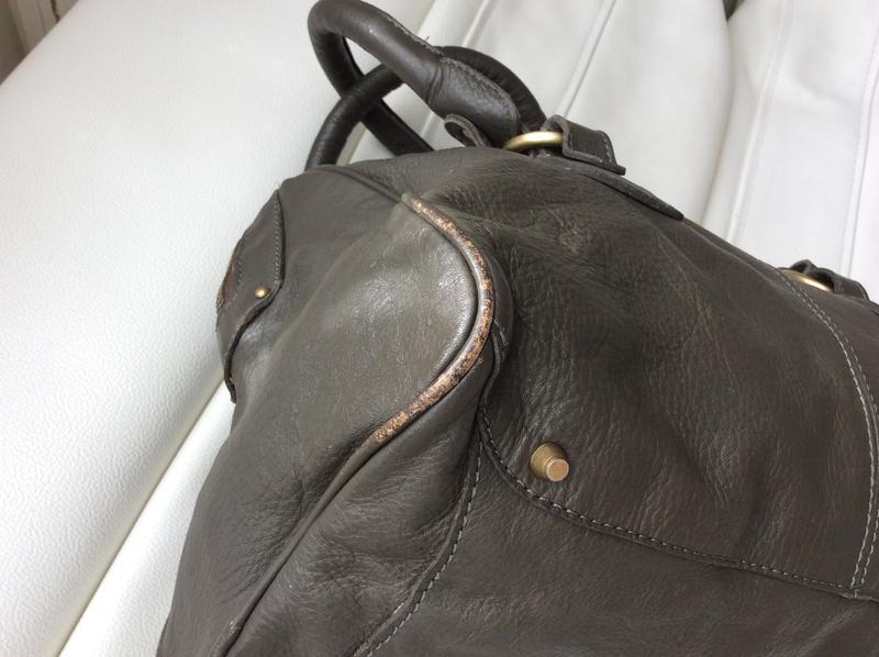 Распродажа!кожаная сумка mango - Фото 4