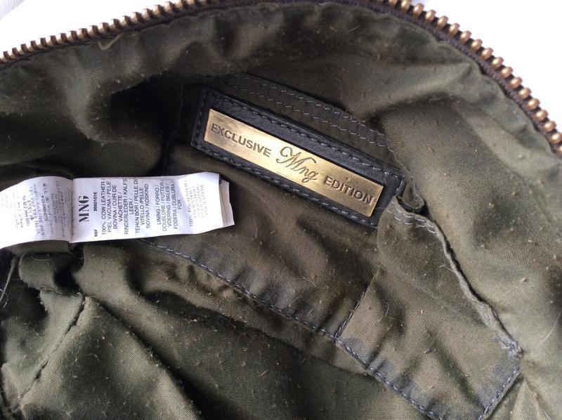 Распродажа!кожаная сумка mango - Фото 5
