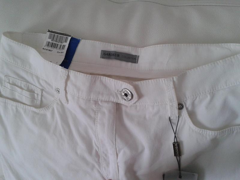 Легкие летние штаны капри gardeur - Фото 2