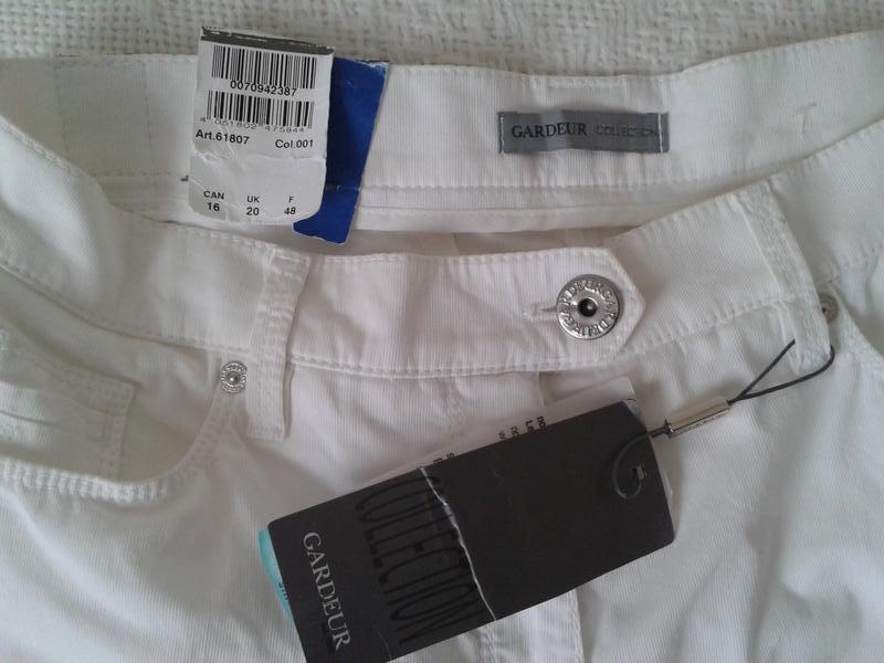 Легкие летние штаны капри gardeur - Фото 4