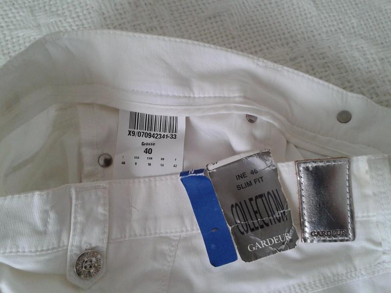 Легкие летние штаны капри gardeur - Фото 5