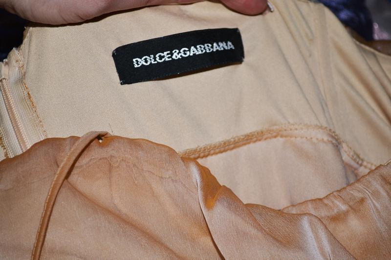 Роскошное платье в пол, длинное леопардовое  dolce gabbana - Фото 4