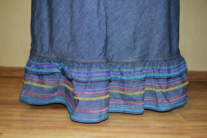 Длинное платье, сарафан в пол tommy hilfiger - Фото 3