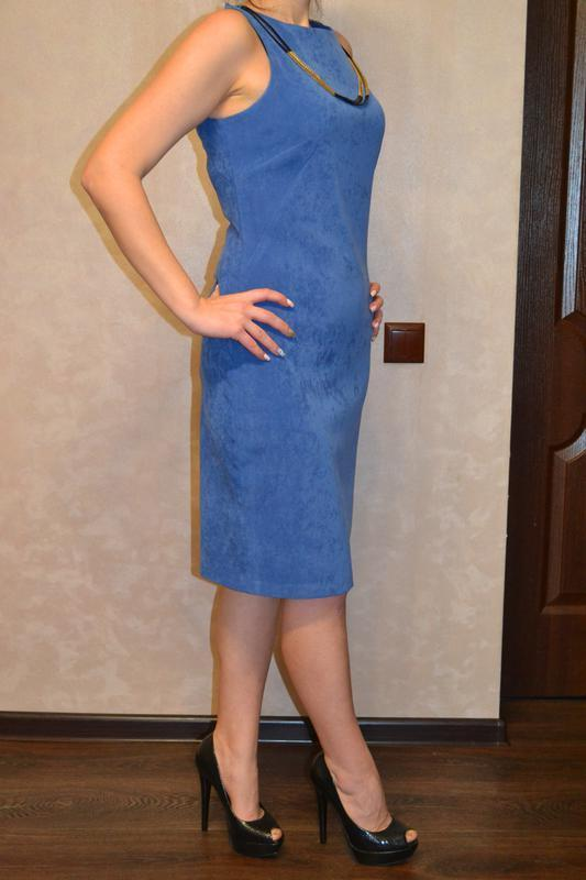 Классическое, красивое платье gucci - Фото 2