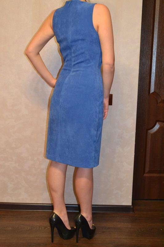 Классическое, красивое платье gucci - Фото 4