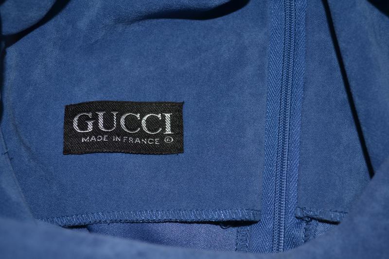 Классическое, красивое платье gucci - Фото 5