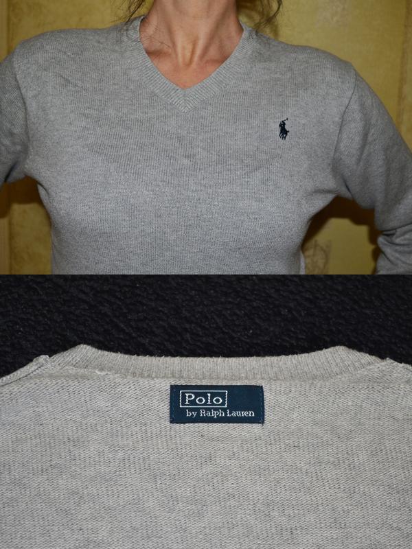 Свитер, пуловер, поло ralph lauren  размер s - m - Фото 4