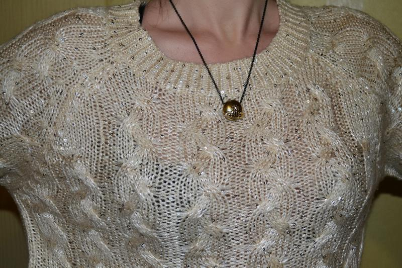 Красивый свитер, кофта с бантиками - Фото 4