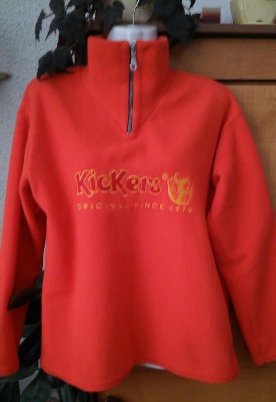 Спортивная кофта, свитшот сочного апельсинового цвета, размер м-l