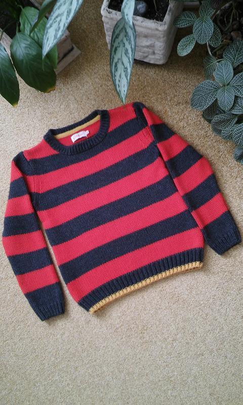 Веселый свитер в полоску cath kids, англия