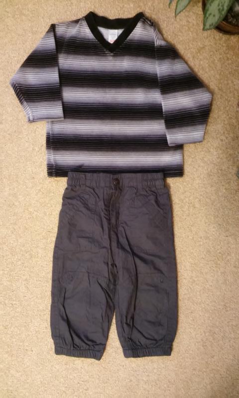 Велюровый свитерок на 1,5-2 года, германия
