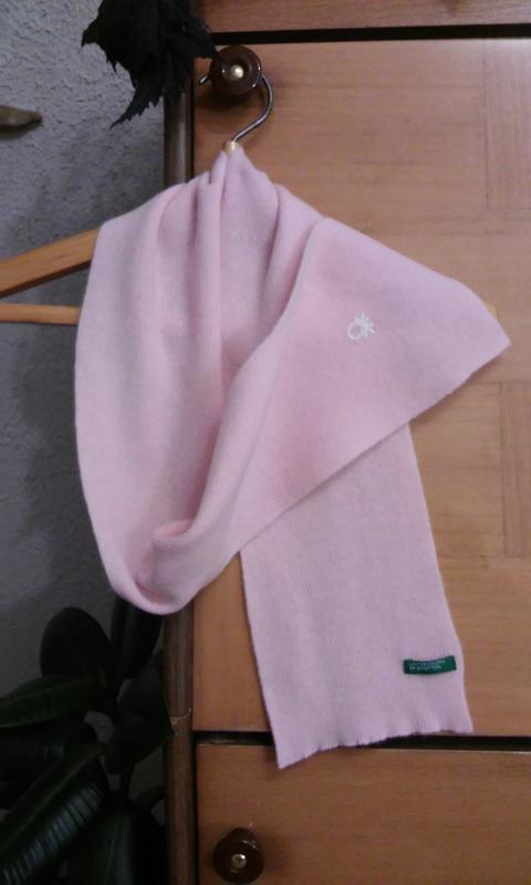 Шерстяной детский шарфик известного бренда