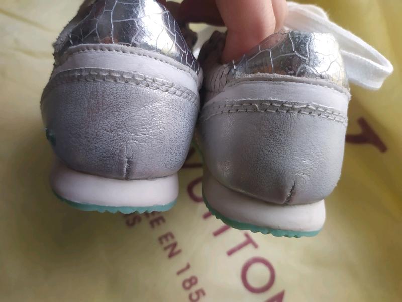 Детские кожаные кроссовки Bunnies - Фото 6