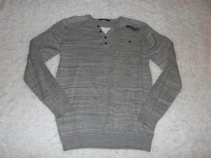 Кофта мальчику 13 - 14 лет свитер - Фото 3