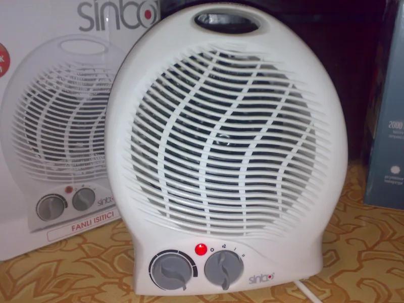 Тепловентилятор Sinbo SFH-3312,обігрівач,новий - Фото 3