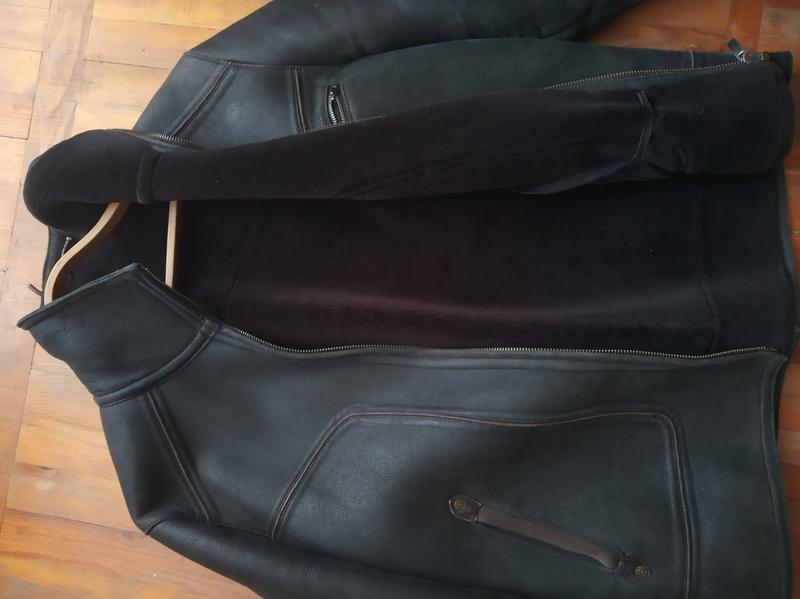 Куртка кожаная зимняя,дублёнка кожаннная.р.52-54. - Фото 2