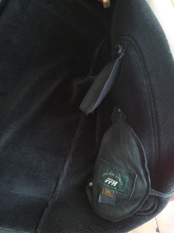 Куртка кожаная зимняя,дублёнка кожаннная.р.52-54. - Фото 3