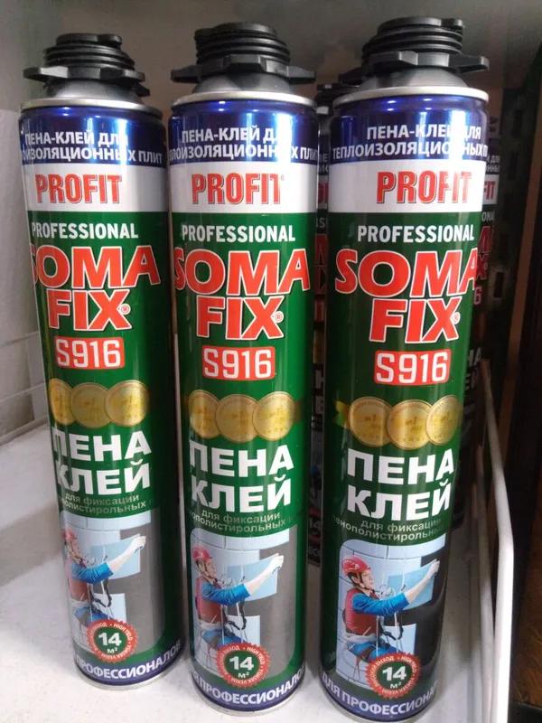 Пена-клей Soma Fix S916