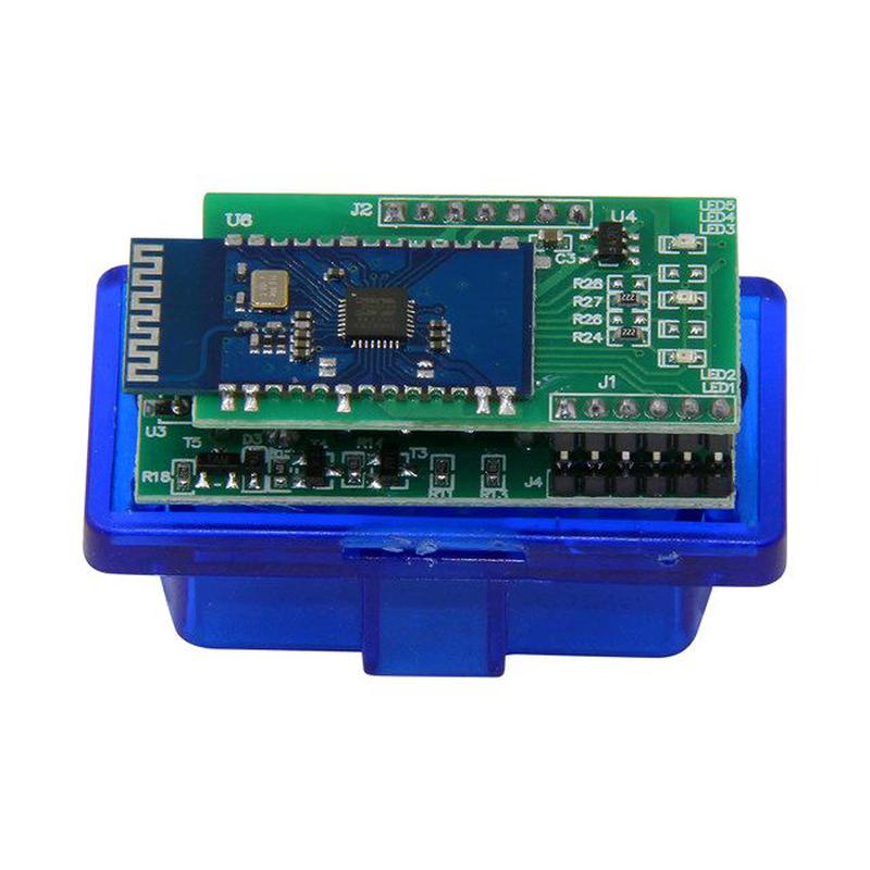 Диагностический сканер ELM 327 OBDII  для 16pin разъёмов