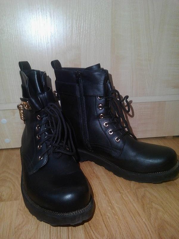 Ботинки деми р. 40-41 - Фото 3