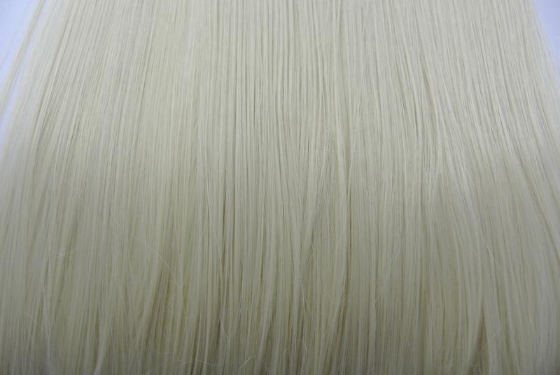 11-20 волосы трессы цвет блонд №613 затылочная прядь на заколк... - Фото 5