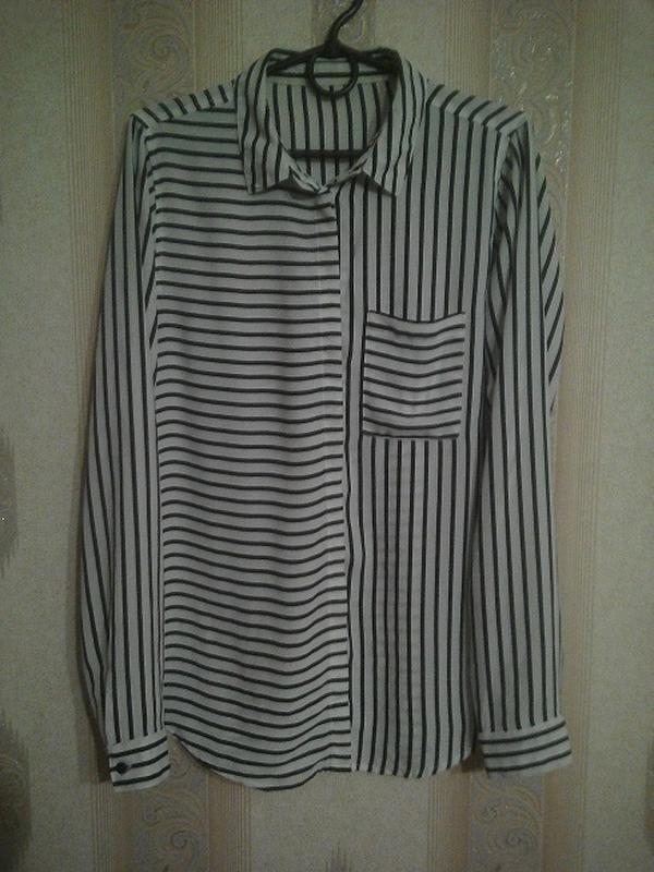 Рубашка/ блуза в полоску р. m-l