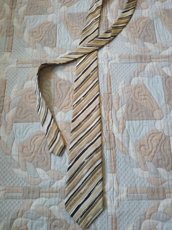 Мужской галстук gianni versace оригинал шёлк