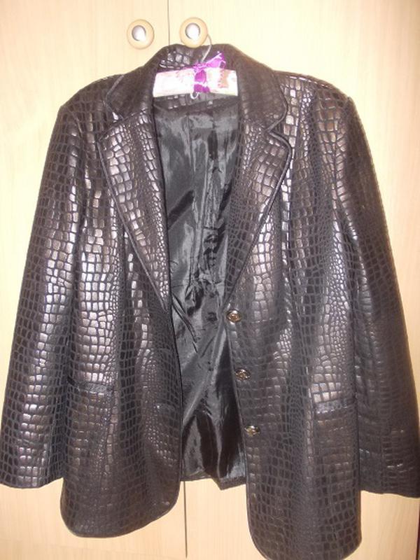 Куртка-пиджак весна-осень р.46 - Фото 2
