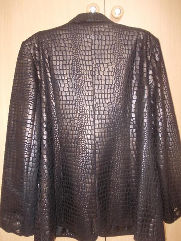 Куртка-пиджак весна-осень р.46 - Фото 5