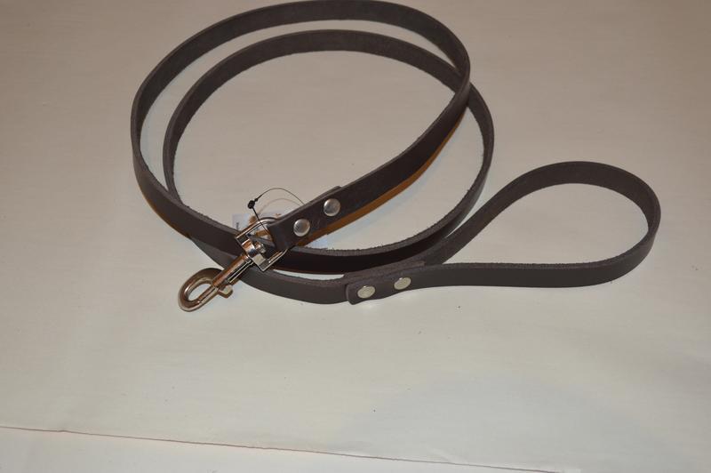 Кожаный поводок для собак Jack&Jack   1.9 м * 16мм - Фото 3