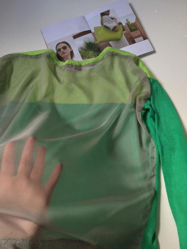 Яркая кофточка с прозрачной спинкой milleniym - Фото 2