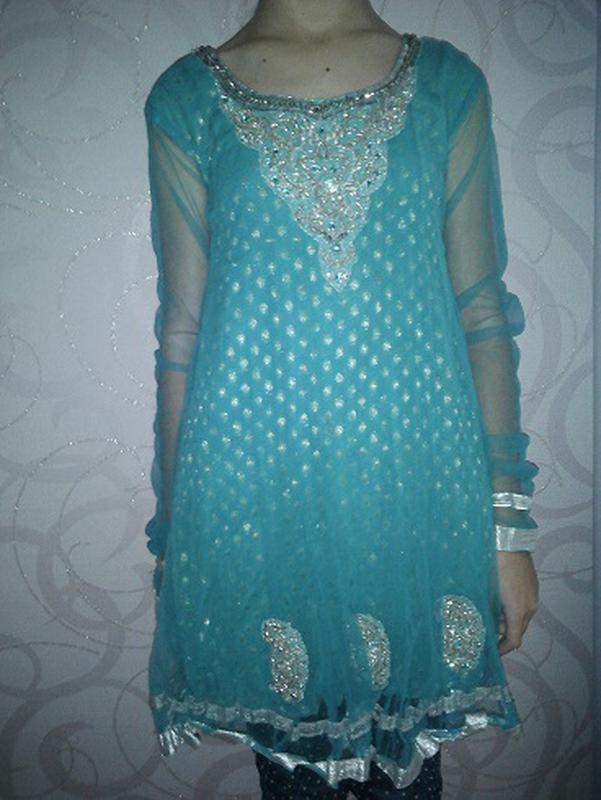 Платье в восточном стиле на 9-11 лет