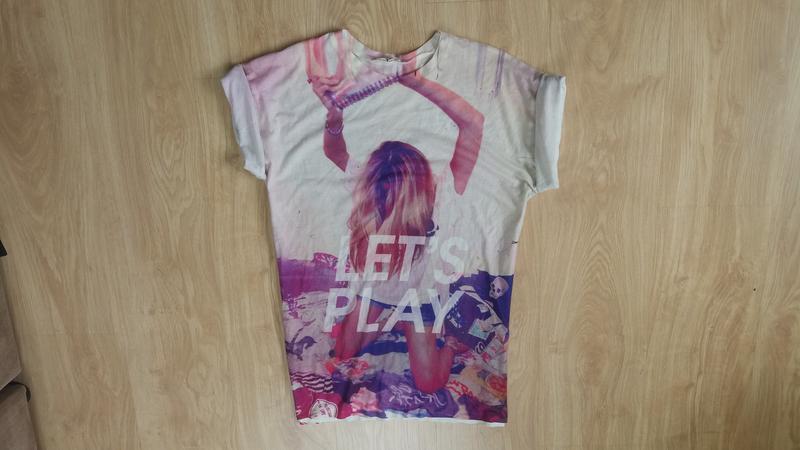 Длинная футболка - Фото 2