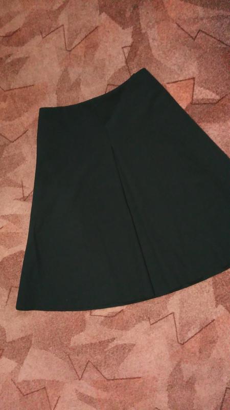 Cos юбка средней длины ,трапеция, а-образный силуэт - Фото 2