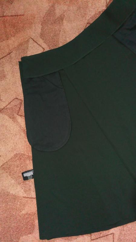 Cos юбка средней длины ,трапеция, а-образный силуэт - Фото 3