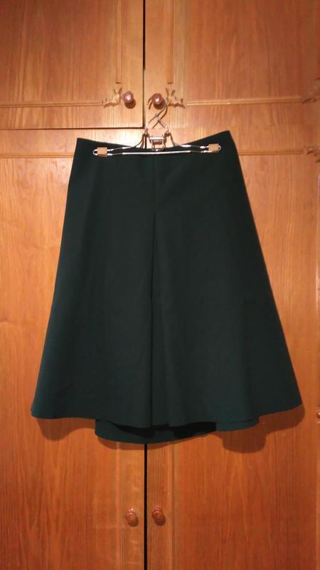 Cos юбка средней длины ,трапеция, а-образный силуэт - Фото 4