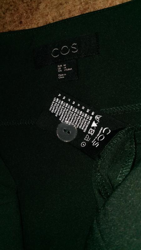 Cos юбка средней длины ,трапеция, а-образный силуэт - Фото 5