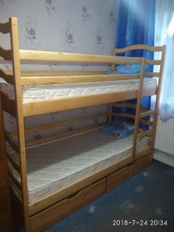 С матрасами и ящиками двухъярусная кровать София.