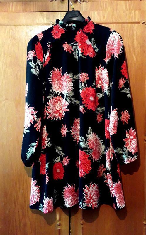 Платье в цветочный принт от atmosphere - Фото 2
