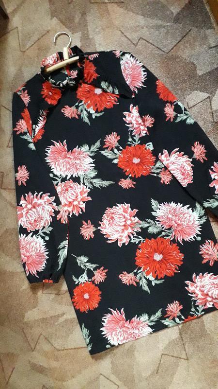 Платье в цветочный принт от atmosphere - Фото 4