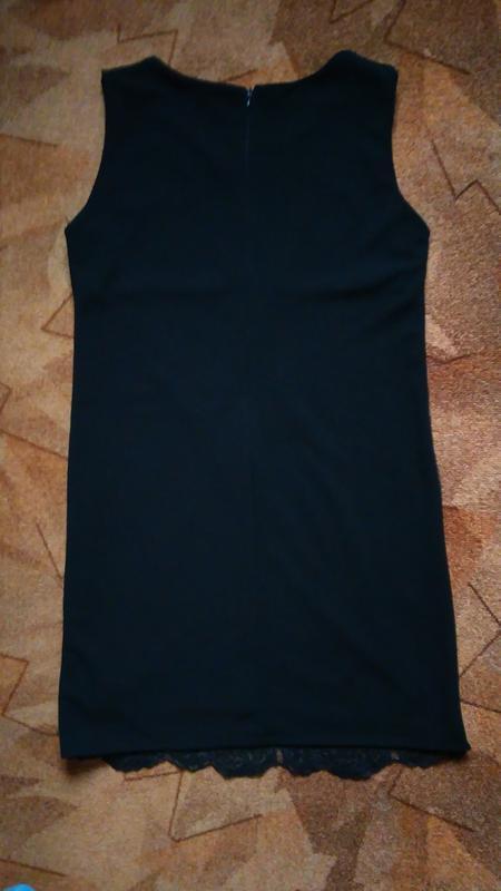 Платье с отделкой сетка - Фото 3