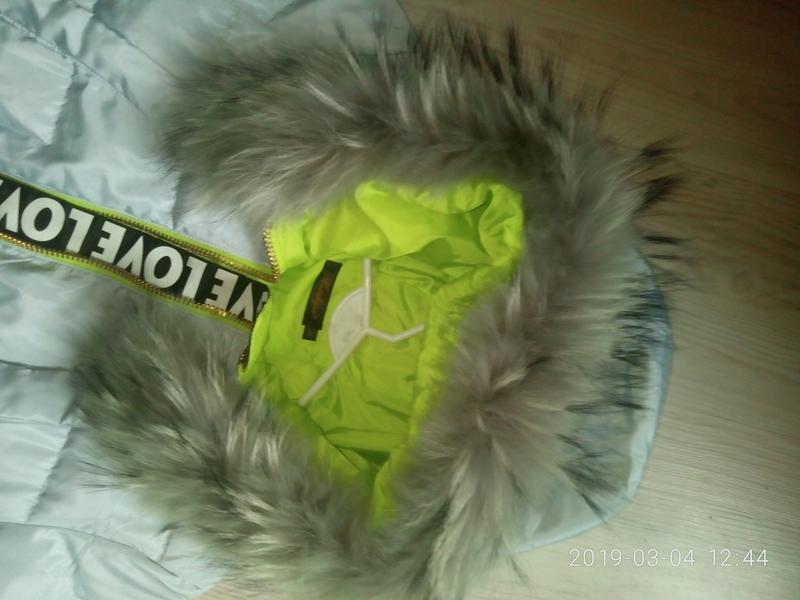 Бомбезная куртка, пальто с натуральным мехом - Фото 4