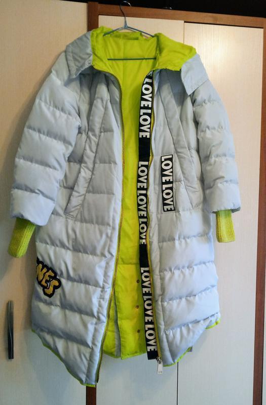Бомбезная куртка, пальто с натуральным мехом - Фото 5