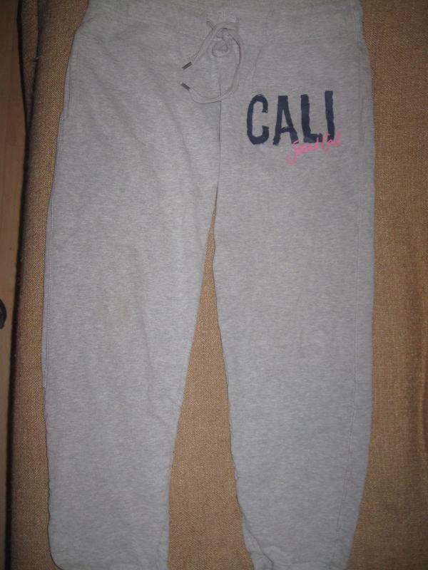 Клевые меланжевые спортивные штаны cali