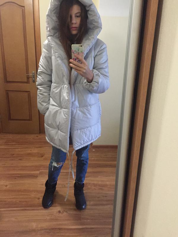 Актуальная куртка- зефирка, одеяло - Фото 4