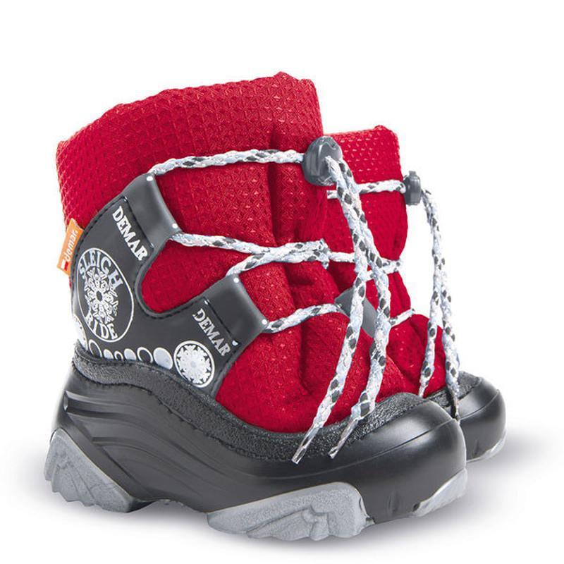 Зимние детские сапожки-дутики демар snow ride 24-25, 26-27р