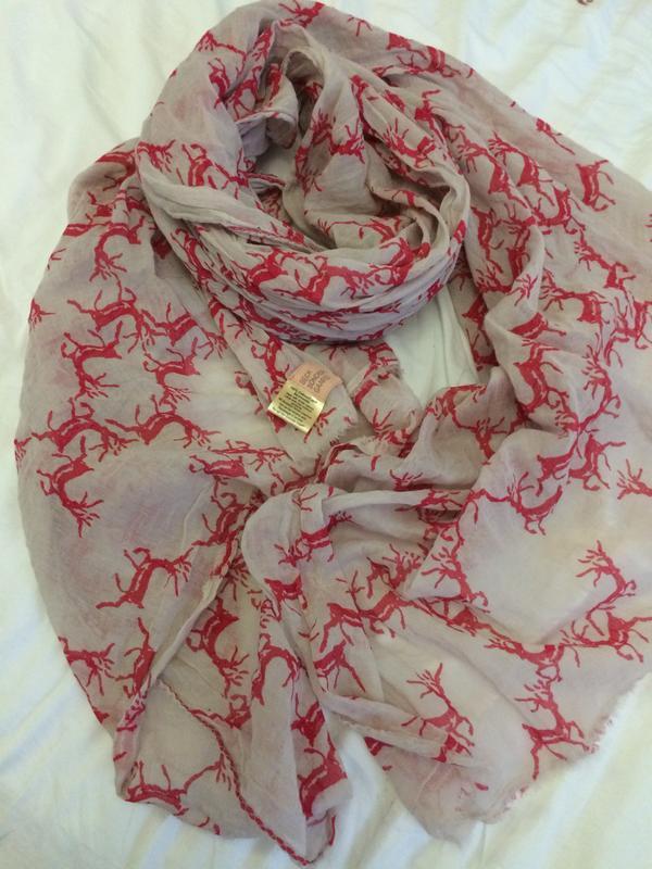 Beck sondergaard модная шаль шарф 100% хлопок - Фото 5