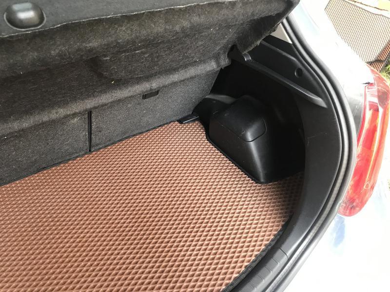 Коврик багажника для Toyota Yaris - Фото 2