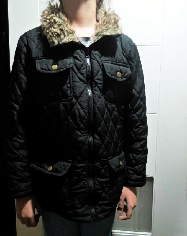Стеганая курточка y.d.  для девочки 10-11 лет